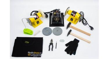 Станки для заточки маникюрных и парикмахерских инструментов Sharp R7 KIT Standart + Видео курс + 3 дня обучения