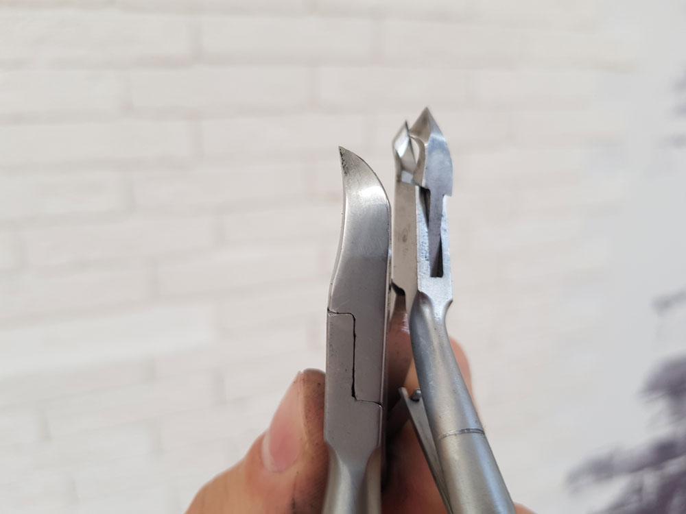 Обучение заточке маникюрных инструментов. Заточенные кусачки