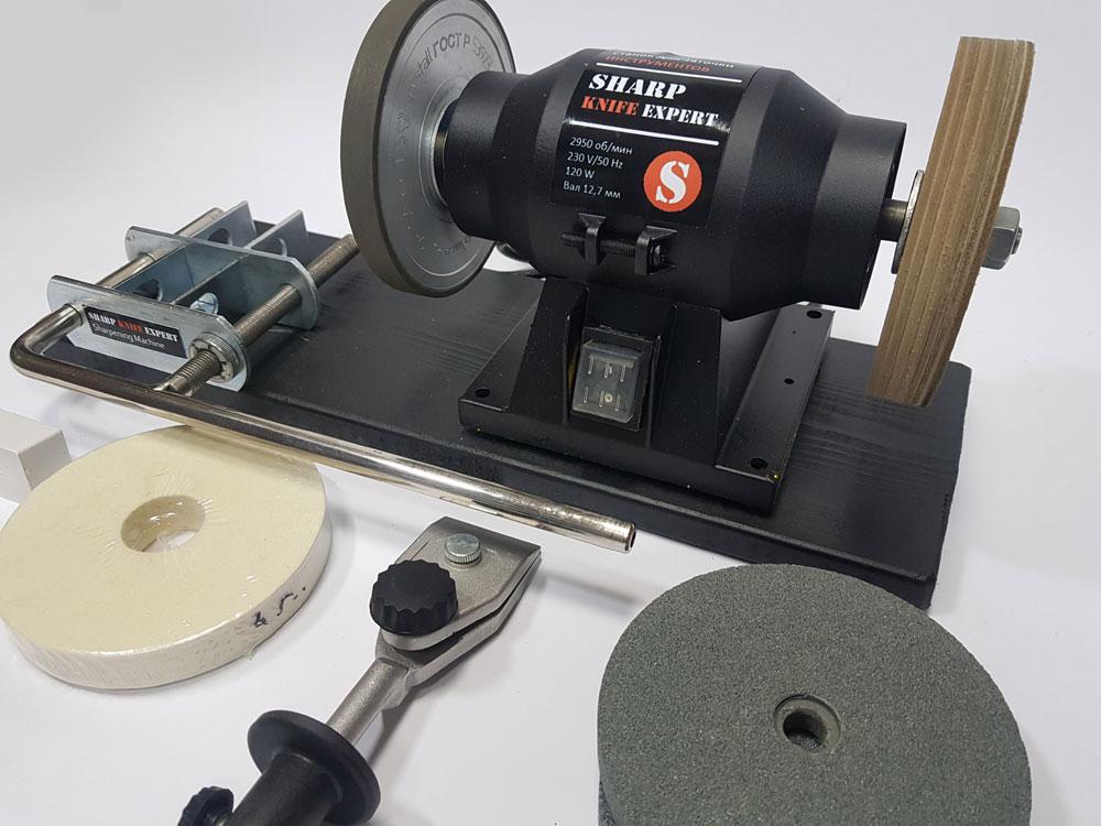 Оборудование для заточки ножей, которое входит во франшизу заточки инструментов