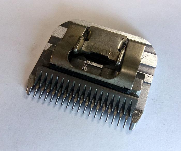 Обучение заточки парикмахерских инструментов. Нож от машинки