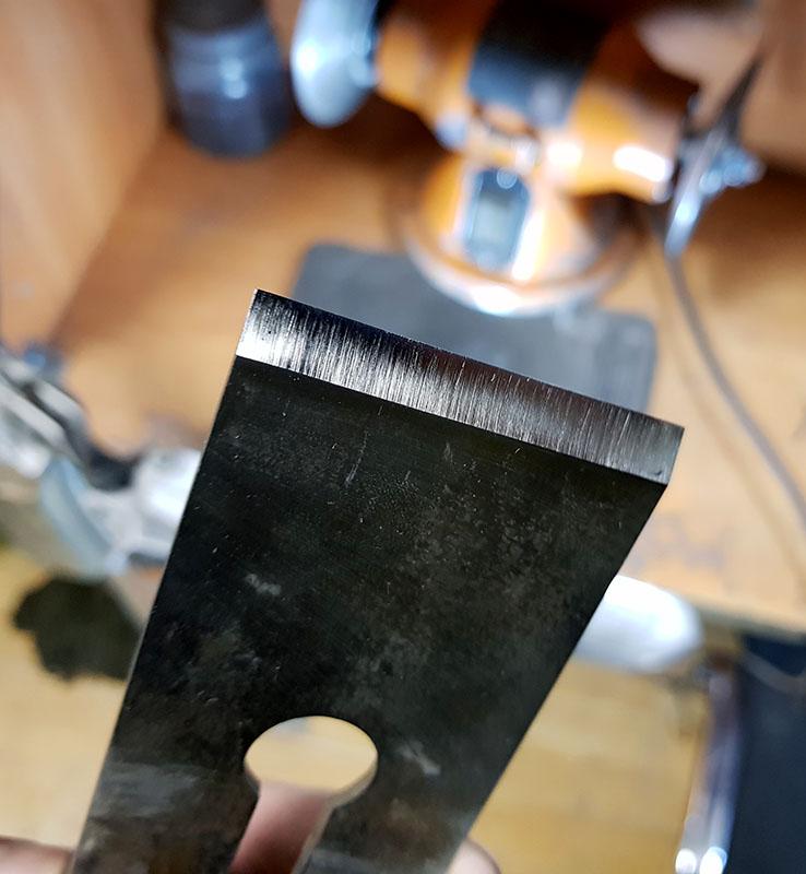заточка ножей для рубанка
